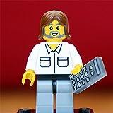 Steve Wozniak | exklusive LEGO Figur vom Apple Mitgründer und Computer-Genie | FamousBrick | Gadget für Mac & iPhone Liebhaber