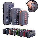 Eono by Amazon - Mikrofaser Handtücher, 8 Farben - kompakt, Ultra leicht & schnelltrocknend - Microfaser Handtücher – Perfekte Sporthandtuch, Strandhandtuch, Reisehandtuch und Badehandtücher