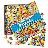 Unlösbares Puzzle – Motiv: Bonbons – 500 fast identische Teile – Geeignet ab 9 Jahren – Scherzartikel – Knobelspiel – Lustige Geschenk-Idee für Erwachsene und Kinder zu Weihnachten