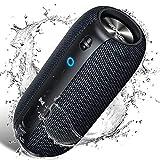 Bluetooth Lautsprecher IPX7 Wasserdicht, SCIJOY 20W Wireless Lautsprecher, Tragbarer 360° Stereo Lautsprecher Sound, Satter Bass, 12 Std.-Spielzeit, für Heim/Outdoor, Dusche, Party, Urlaub