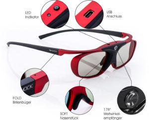 3D Brille RF -Scarlet Heaven