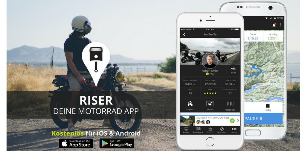 RISER- DIE MOTORRAD APP