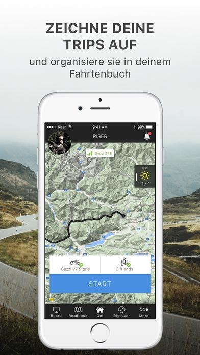 RISER - Deine Motorrad App