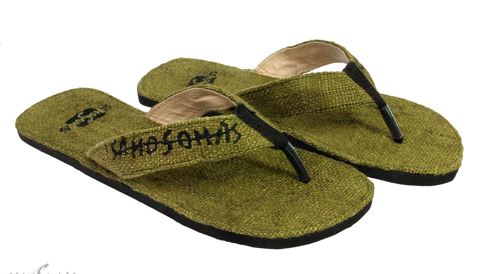 Samosomas Hanf Flip Flops
